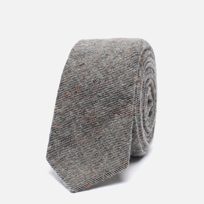 Мужской галстук The Hill-Side Wool Blend Galaxy Tweed Oatmeal