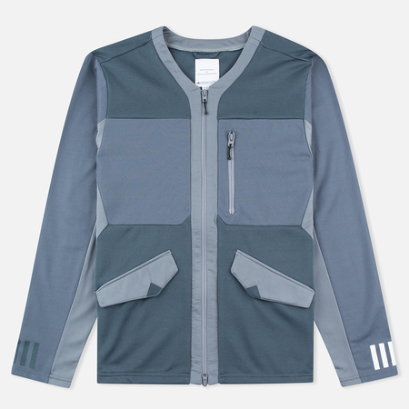 adidas Originals x White Mountaineering Track Top Zip Men's Cardigan Bold Onix/Grey