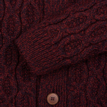 Мужской кардиган Armor-Lux Heritage Buttons Burgundy Red фото- 2