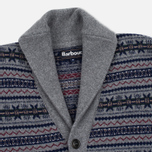 Мужской кардиган Barbour Harvard Fairisle Shawl Grey Marl фото- 1
