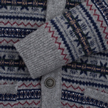 Мужской кардиган Barbour Harvard Fairisle Shawl Grey Marl фото- 2
