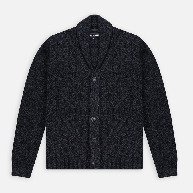 Barbour Isaac Shawl Charcoal