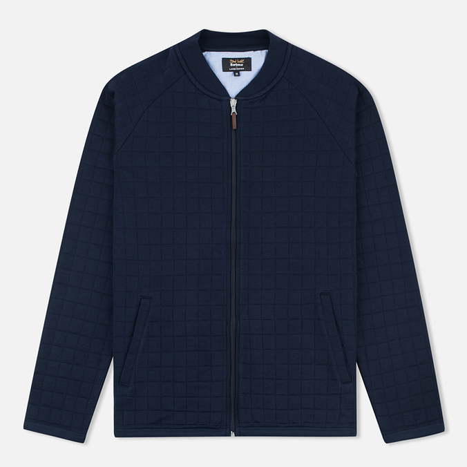 Мужской кардиган Barbour x Land Rover Tread Zip Through Navy