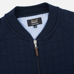 Мужской кардиган Barbour x Land Rover Tread Zip Through Navy фото- 1