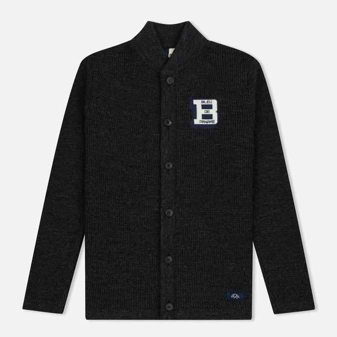 Bleu De Paname Belmon Men's Cardigan Antracite