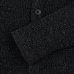 Bleu De Paname Belmon Men's Cardigan Antracite photo- 3