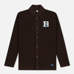 Bleu De Paname Belmon Men's Cardigan Chataigne photo- 0