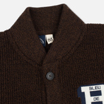 Bleu De Paname Belmon Men's Cardigan Chataigne photo- 1