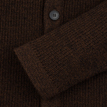 Bleu De Paname Belmon Men's Cardigan Chataigne photo- 3