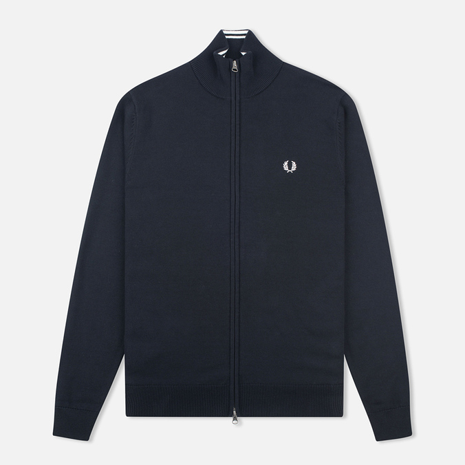 Fred Perry Classic Zip Men's Cardigan Black
