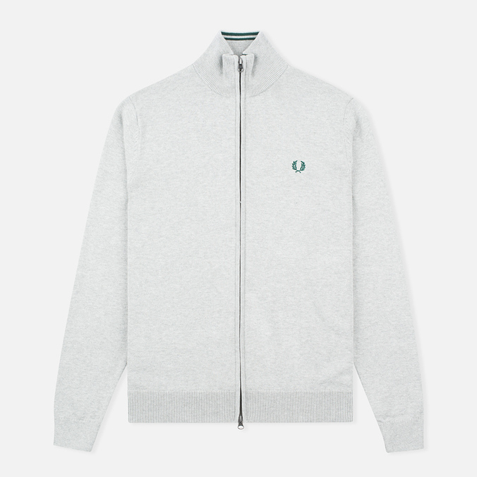 Fred Perry Classic Zip Men's Cardigan Stone Marl