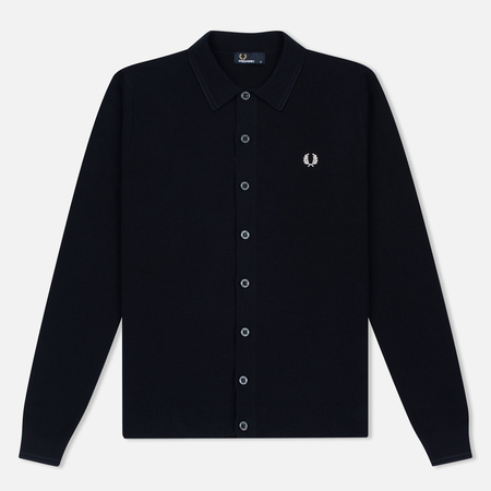 Мужской кардиган Fred Perry Tonal Twin Tipped Navy