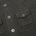 Мужской кардиган Hackett Lambswool Full Button Charcoal фото- 2