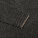 Мужской кардиган Hackett Lambswool Full Button Charcoal фото- 3