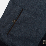 Мужской кардиган Hackett Tweed Wool Cashmere Navy фото- 3