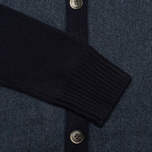 Мужской кардиган Hackett Tweed Wool Cashmere Navy фото- 2