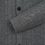 Мужской кардиган Lyle & Scott Shawl Neck Mid Grey Marl фото- 3