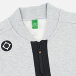 Мужской кардиган MA.Strum Shawl Collar Zip Through Fleece Grey Marl фото- 1