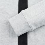 Мужской кардиган MA.Strum Shawl Collar Zip Through Fleece Grey Marl фото- 5