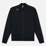 Мужской кардиган MA.Strum Shawl Collar Zip Through Fleece Jet Black фото- 0