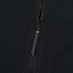 MA.Strum Shawl Collar Zip Through Fleece Men's Cardigan Jet Black photo- 3