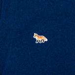 Maison Kitsune Lambswool Classic Men's Cardigan Blue photo- 3