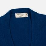 Maison Kitsune Lambswool Classic Men's Cardigan Blue photo- 1