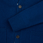 Maison Kitsune Lambswool Classic Men's Cardigan Blue photo- 4