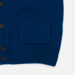 Maison Kitsune Lambswool Classic Men's Cardigan Blue photo- 5