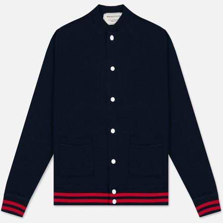 Мужской кардиган Maison Kitsune Teddy Mont Fuji Navy
