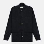Мужской кардиган Universal Works Knit Work Jacket Half Milano Charcoal фото- 0