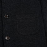 Мужской кардиган Universal Works Knit Work Jacket Half Milano Charcoal фото- 2