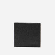 Кошелек Barbour Grain Leather Billfold Black фото- 0