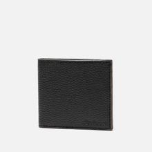 Кошелек Barbour Grain Leather Billfold Black фото- 1
