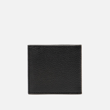Кошелек Barbour Grain Leather Billfold Black фото- 2