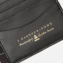 Кошелек Barbour Grain Leather Billfold Black фото- 4