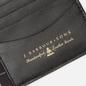 Кошелек Barbour Grain Leather Billfold Black фото - 4