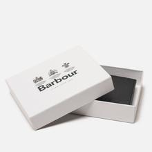 Кошелек Barbour Grain Leather Billfold Black фото- 5