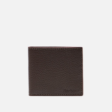 Кошелек Barbour Grain Leather Billfold Dark Brow фото- 0