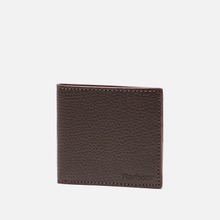 Кошелек Barbour Grain Leather Billfold Dark Brow фото- 1
