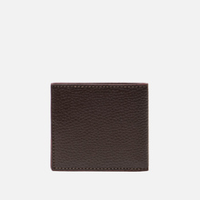 Кошелек Barbour Grain Leather Billfold Dark Brow фото- 2