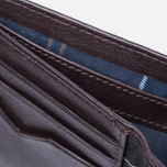 Мужской кошелек Barbour Standard Leather Brown фото- 3