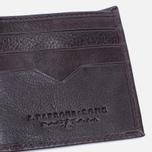 Мужской кошелек Barbour Standard Leather Brown фото- 4