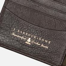 Кошелек Barbour Wallet/Coin Holder Dark Brow фото- 4