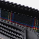 Мужской кошелек Maison Kitsune Tricolor Black фото- 3