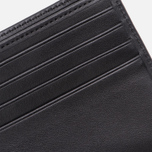 Мужской кошелек Maison Kitsune Tricolor Leather Black фото- 3