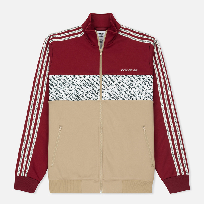 Мужской костюм adidas Consortium x United Arrows & Sons Track Suits Collegiate Burgundy