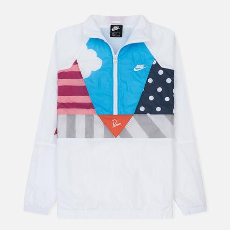 Мужской костюм Nike x Parra Hypercool Half Zip Warm-Up White/White