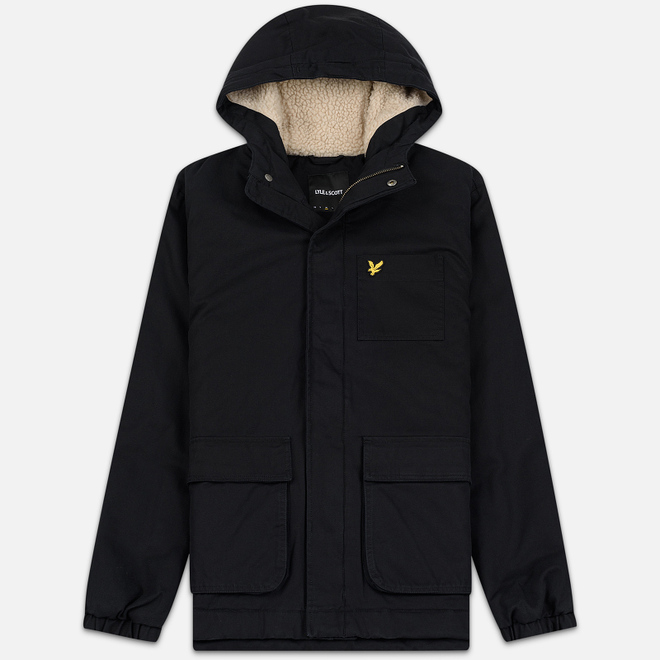 Мужская куртка Lyle & Scott Wadded True Black