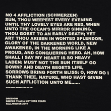 Мужской лонгслив Rick Owens DRKSHDW Level Affliction Print Black/Natural фото- 2